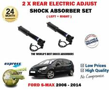 FOR FORD S MAX + ECOBOOST 2006-2014 2X REAR ELECTRIC ADJUST SHOCK ABSORBERS SET