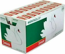 10 x SWAN MENTHOL EXTRA SLIM FILTER TIPS 5mm PRE-CUT CIGARETTE TOBACCO 1200 Tips