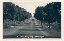 Dutch Indies Indonesia Semarang Oei Tiong Bing way RPPC 1940