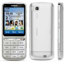 Nokia C Series C3-01 Symbian 30MB 5MP 3G Unlocked Mobile Phone Silver