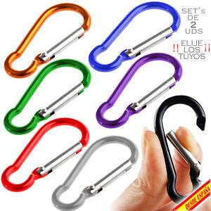 Screwgate Carabiner Alloy Aluminium Keychain Hook Snap Clip Hook Key Chain