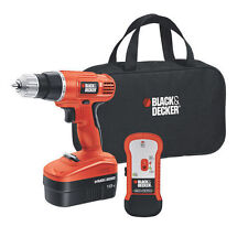 BLACK+DECKER™ 18V Drill with Stud Finder Cordless New