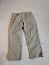 Carhartt 42x32 Tan Jeans Big Plus Size 38x30