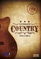 ULTIMATE COUNTRY VOL 2 SBI KARAOKE DVD - 110 HIT SONGS