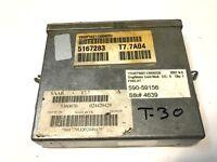 99-03 SAAB 9-5 FWD,AT, ECU ECM ENGINE COMPUTER CONTROL MODULE 5167283