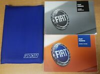 GENUINE FIAT G PUNTO HANDBOOK OWNERS MANUAL WALLET 2003-2007 PACK F-883