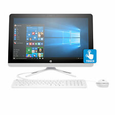 "New HP All-in-One 24"" Touch Screen A8-7410 2.5GHz Quad-Core 8GB 1TB AIO Computer"