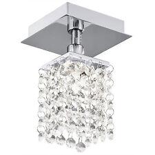 Plafoniera lampada design cristallo Luce krsitall Luce Cucina