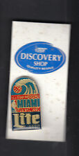 Miller Lite 1990 NBA All Star Weekend in Miami 1 inch Collectors Pin