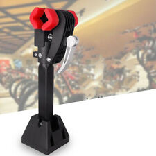 Folding Bike Wall Mounted Repair Stand Clamp with Rubber Padded Jaw Bicycle Rack