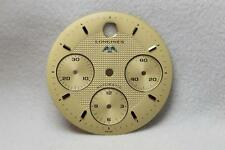 Longines Gold Chronograph Wristwatch Dial - 29.4mm NOS