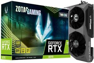 🔥 ZOTAC GeForce RTX 3060 TI Twin Edge 🔥 8GB GDDR6 GPU ⚡Fast Shipping 🚚💨