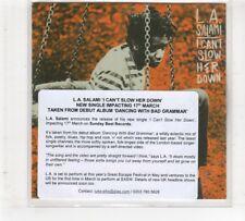 (HM611) L.A. Salami, I Can't Slow Her Down - DJ CD