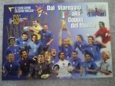 CARTOLINA VIAREGGIO 59 coppa CARNEVALE 2007 calcio football postcard Cup vintage
