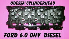 FORD 6.0 TURBO DIESEL F350 TRUCK CYLINDER HEAD CAST#080 ONLY 02-06 18MM REBUILT