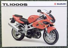 SUZUKI TL 1000 S MOTORCYCLE Sales Sheet 1997