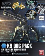 Gundam HG Build Custom 009 K9 Dog Pack Gm Sniper K9 Support Unit 1/144 Model Kit