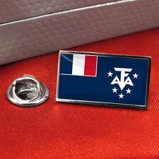 Français du Sud et Antarctique Lands Drapeau insigne de goupille de revers /