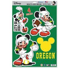 Oregon Ducks Let'S Go Ducks Mickey Mouse Laptop Multi Use Reusable Decals