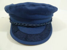 Vintage Greek Fishermans Captain Greek Odd Retro Fashion Costume Hat Cap 7 7/8