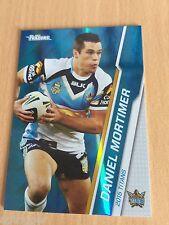 2015 NRL Traders Parallel (P42) Daniel MORTIMER Gold Coast Titans