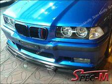Carbon Fiber V Style Front Spoiler Bumper Lip Fit BMW M3 1992-1998 E36 M3