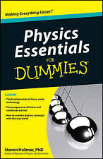 Physics Essentials for Dummies by Steven Holzner (Paperback, 2010)