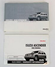 isuzu ascender manuals literature ebay rh ebay com Isuzu Impulse 2007 isuzu ascender owner's manual