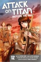 Attack On Titan Before The Fall   Vol 12   Satoshi Shiki   Manga Pbk  NEW