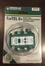 Greenlee Tur Tel 6 Modular Tester