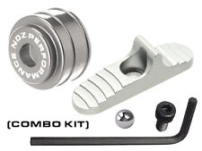 for Mossberg Shotgun 500 590 835 930 935 Slide Safety Mag Follower Kit Silver