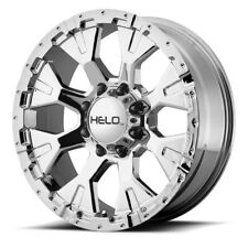 "17"" Helo HE878 Chrome Wheel 17x9 6x135 -12mm Lifted Ford F150 Lincoln 6 Lug Rim"