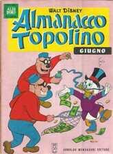 ALMANACCO TOPOLINO 1967 NUMERO 6 + BOLLINO