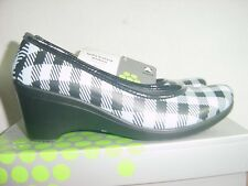 Women's Crocs - Lydia- Plaid - Size 11 NEW IN BOX
