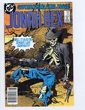 Jonah Hex #92 DC Pub 1985