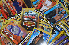 Topps WWE SLAM ATTAX 10th Edition TCG SELECT YOUR Superstars (81-241) cards