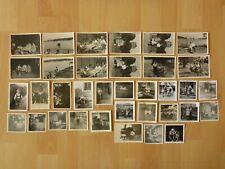 Konvolut Sammlung 35x altes Foto alte Fotos Menschen Kinder Feier Ausflug ...
