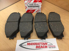 2013 2018 RAV4 LTD, SE, XLE Front Brake Pads Genuine Toyota Ceramic 04465