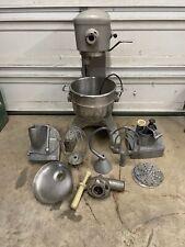 Hobart D 300 Mixer Withmeat Grinder Amp Pelican Head Slicer