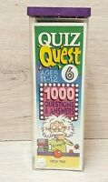 QUIZ QUEST 90'S RETRO VINTAGE QUIZ BOOKS AGES 11-12 BOOKS  EDUCATIONAL