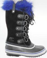 SOREL JOAN OF ARCTIC WOMEN'S BLACK WATERPROOF INSULATED BOOTS, NL2529-010