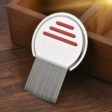 StainlessSteel Hair Lice Comb Brushes Nit Free Terminator Fine Egg Dust Removal~