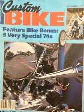 Custom Bike Magazine 3 Very Special 74s December 1978 010218nonrh