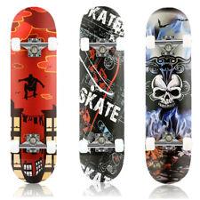 CAROMA Skateboard Kinderskateboard Komplettboard Deck Funboard ABEC-7 80x20cm DE