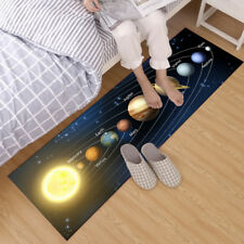 40x120cm Home Area Rug Bedroom Kitchen Rug Yoga Floor Carpet Space Solar System