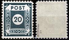SBZ 48 dii **, 20 PF. cifra-Coswig, Gepr. Findeisen BPP