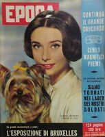 EPOCA N.398 1958 AUDREY HEPBURN