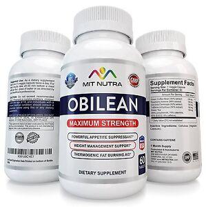 1 OBILEAN Fast Rapid Maximum Adipex P Weight Loss Diet Pills Capsules P 37.5 375
