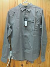 Nwt Under Armour Men's Ua Backwater Ls Fresh Clay Small Button Shirt