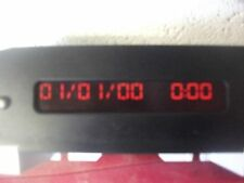PEUGEOT 206 3 BULB INTERIOR DIGITAL TIME CLOCK TESTED (SINGLE LINE DISPLAY)